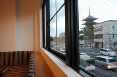 世界遺産の東寺が毎日見れますよ!