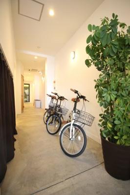 自転車レンタル1日500円で可能