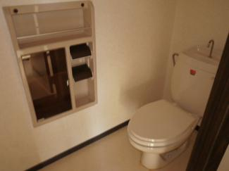 【トイレ】コーポホワイトハウス