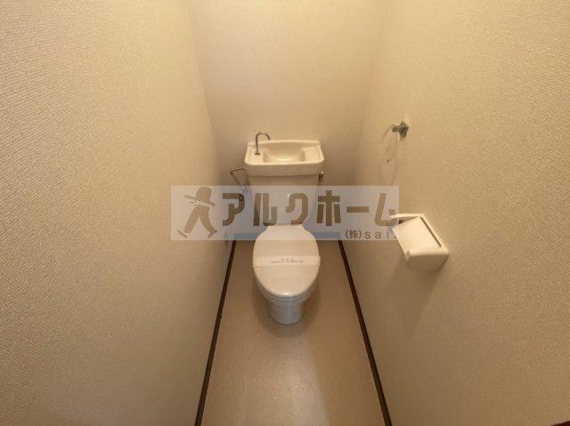 メゾンド玉手(柏原市玉手町) お手洗い