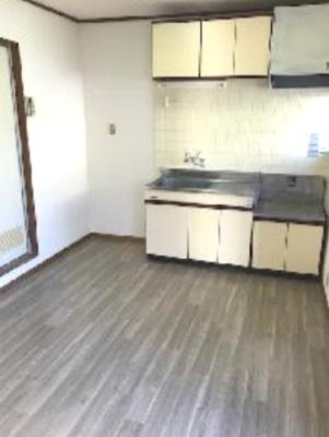 【キッチン】フラット国立B棟