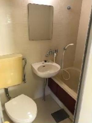 【浴室】フラット国立B棟