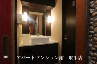 【洗面所】山中屋本店ビル