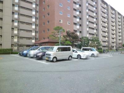 【駐車場】山科団地B棟