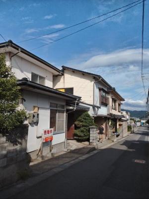 【前面道路含む現地写真】鳥取市浜坂3丁目土地