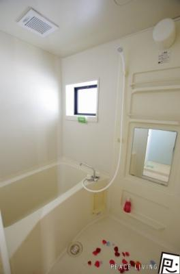 【浴室】セジュール文化の森 D棟