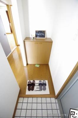 【玄関】セジュール文化の森 C棟
