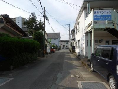 【前面道路含む現地写真】【土地】宮崎市大字恒久住宅用地