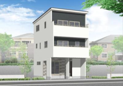 ■外観のデザインもお客様にてデザイン可能です♪♪ 3階建てもOK ※別途費用が必要です