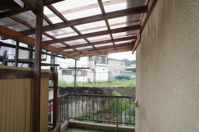 【バルコニー】岡山4丁目貸家