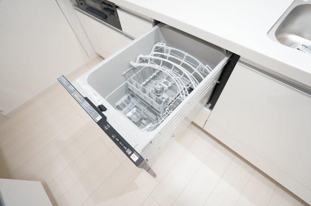 食洗機乾燥機付で後片付けも楽ちん♪