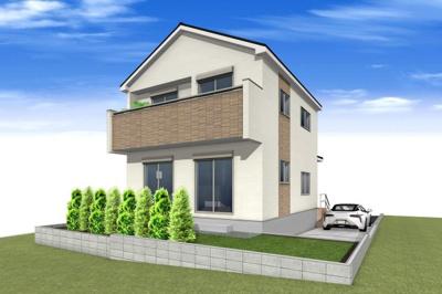 建物完成予想図です。2020年7月完成予定です。