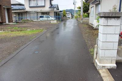 【前面道路含む現地写真】二戸市福岡字八幡平