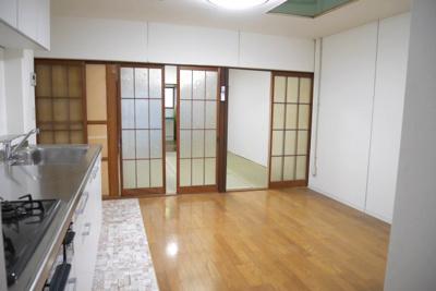 【居間・リビング】戸川町中古住宅 4DK
