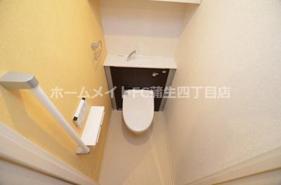 【トイレ】ヴァンヴェール森の宮