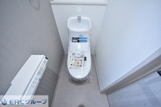 【トイレ】灘区篠原中町 新築一戸建て