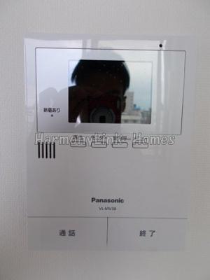 リヴィエール高田馬場のTV付インターホン(別部屋参考写真)☆