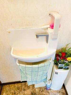 1階トイレ水洗。