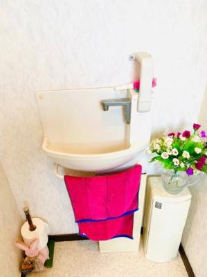 2階トイレ水洗。