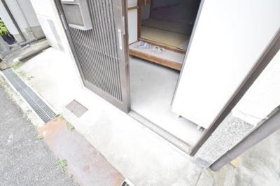【玄関】高見の里4丁目貸家