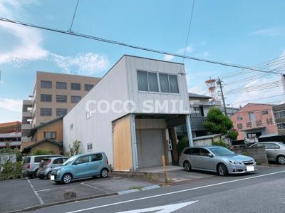 【外観】唐沢町倉庫付事務所