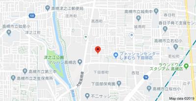 【地図】奥田コーポ (株)Roots