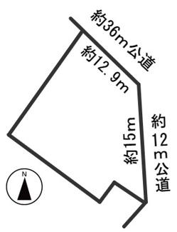 【区画図】55259 岐阜市宇佐南土地