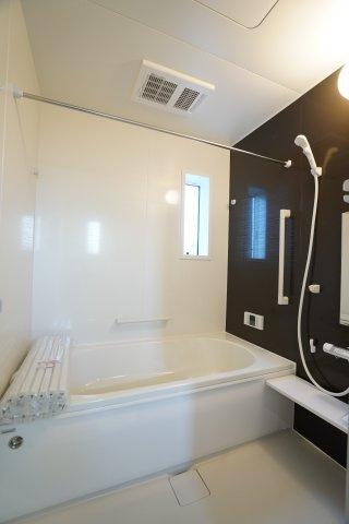 広いお風呂で毎日のお風呂タイムが楽しくなりそうですね。