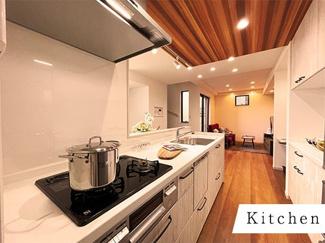 広々としたキッチンで毎日のお料理も捗ります♪