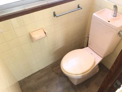 【トイレ】三宅第二アパート