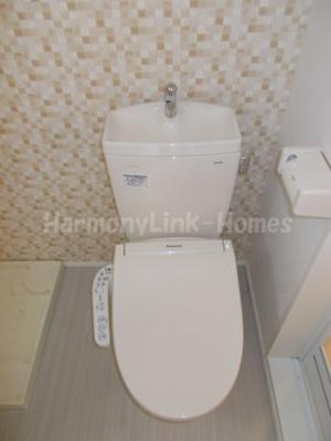 グランドソレーユ西新井のゆったりとした空間のトイレです☆