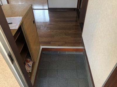 【玄関】三宅第五アパート