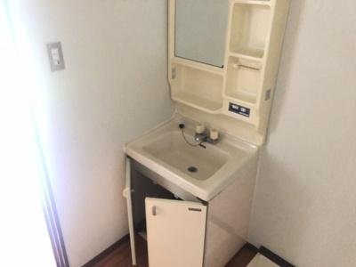 【独立洗面台】三宅第六アパート