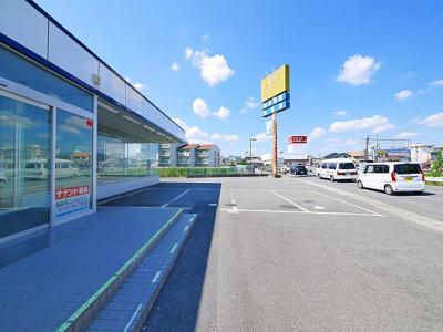 【駐車場】奥田店舗