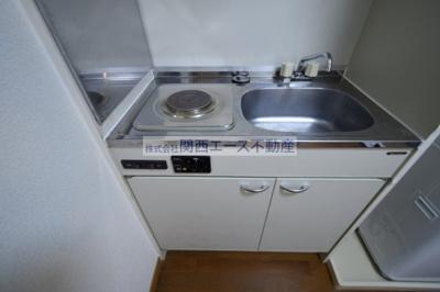 【キッチン】レオパレスジュネス