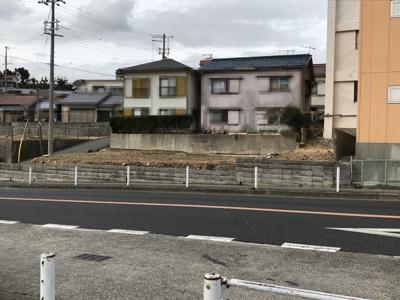 【前面道路含む現地写真】下畑町 土地