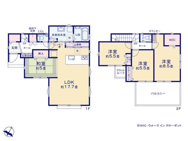 新築戸建/ふじみ野市鶴ケ舞1丁目(全1棟)