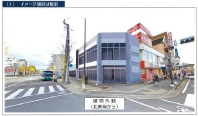 【外観】天理駅前複合店舗(仮称)