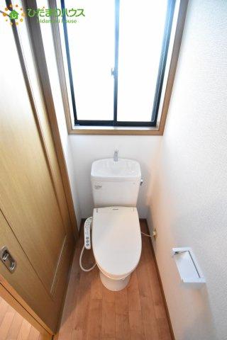 【トイレ】北本市深井1丁目 中古一戸建て