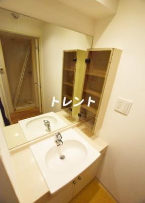 【洗面所】四番町セントラルシティハウス