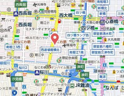 【地図】樹樹ガーデン
