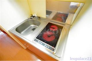 【キッチン】レオパレス小柳町Ⅱ(30251-105)