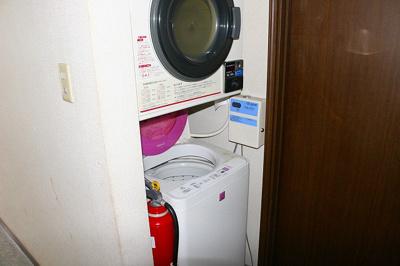 洗濯機置場付きです