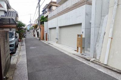 【前面道路含む現地写真】西舞子8丁目新築分譲住宅B号棟