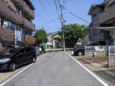 【前面道路含む現地写真】京都市山科区西野山中鳥井町