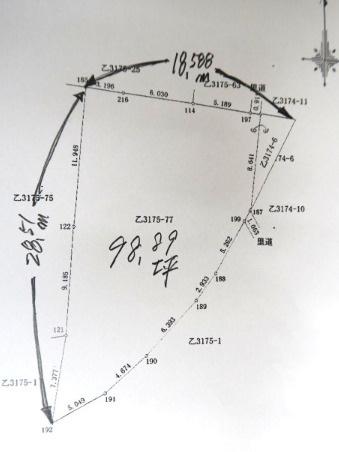 【土地図】大津乙