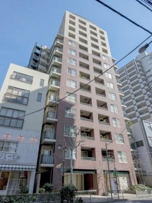 三田ガーデンハウスの外観です。