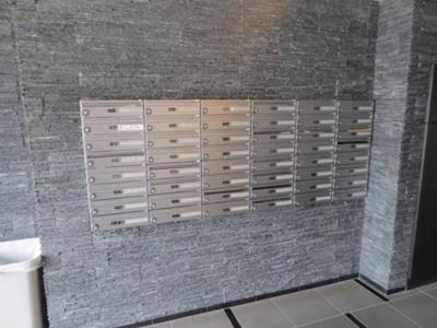 スカイコートパレス芝浦のメールボックスです。