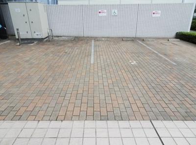 エスリード芝浦ベイサイドの駐車場です。