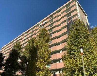 高島平第三住宅8号棟の外観です
